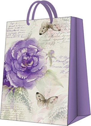 Пакет подарочный Чудо Роза 30x41x12см Paw AGB1000102