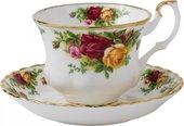 Кофейная пара Розы Старой Англии 150мл Royal Albert IOLCOR135/137