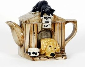 "Чайник коллекционный ""Друг человека"" (The Kennel - Labrador) The Teapottery 4437"