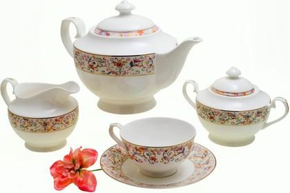 Чайный сервиз Роял Айвори 15 предметов Top Art Studio YF1215-TA