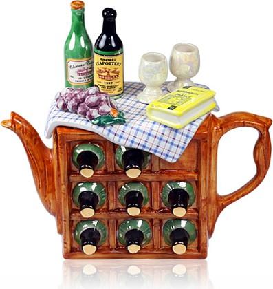 "Чайник коллекционный ""Пикник по-французски"" (French Picnic Teapot) The Teapottery 4470"