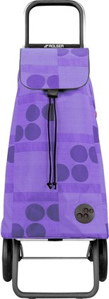 Сумка-тележка хозяйственная фиолетовая Rolser LOGIC RG PAC010malva