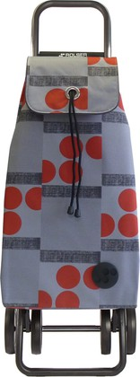 Сумка-тележка Rolser Logos, 4 колеса, складная, красная IMX047rojo