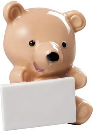 Статуэтка фарфоровая NAO Медвежонок с сообщением (Little bear with message), оранжевый 02001898