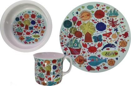 Набор детской посуды Top Art Studio Волшебная страна, 3пр. SC1331-TA