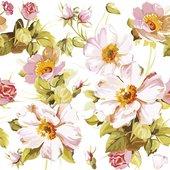 Салфетки для декупажа Paw Цветы, 33x33см, 20шт TL325901