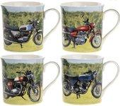 Кружка Lesser & Pavey Мотоциклы, 4 вида 275мл LP93374