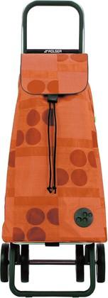 Сумка-тележка хозяйственная оранжевая Rolser LOGIC DOS+2 PAC005mandarina