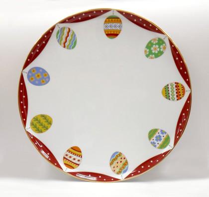 Блюдо круглое Пасхальная трапеза, ф. Для торта ИФЗ 80.62921.00.1