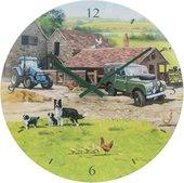 Часы настенные Lesser & Pavey Ферма d30см LP44745