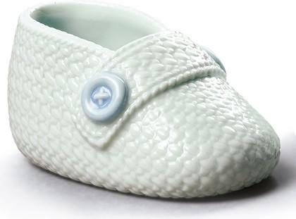 Статуэтка Ботиночек для малыша (Baby boy shoe), фарфор NAO 02001906