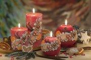 Свеча Ваниль, шар 10см Bartek Candles 5901685031271