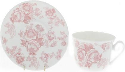 Чайная пара Roy Kirkham Викторианская роза розовая, 500мл XPIN1100
