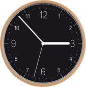 Настенные часы Tescoma Fancy Home, дерево, черный циферблат 908122.00