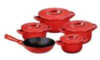 Кастрюля Duo с керамической крышкой 4.3л красная Ceraflame C14231686