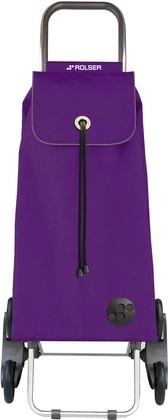 Сумка-тележка хозяйственная фиолетовая Rolser RD6 IMX003more