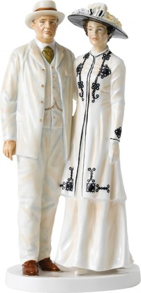 Статуэтка Royal Doulton Лорд и Леди Грэнтэм 22см, фарфор 40017994