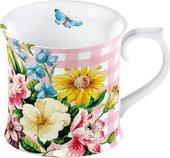 Кружка Creative Tops Английский сад, розовая MG3673