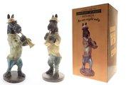Статуэтка собака Трубач 40см The Leonardo Collection LP27584