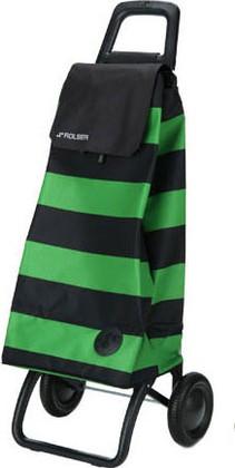 Сумка-тележка хозяйственная зелёно-чёрная Rolser RG MOUNTAIN MOU053verde/negro