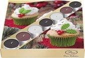 Подарочный набор Paw Рождественские маффины, 20 салфеток, 7 чайныйх свечей SSC027202