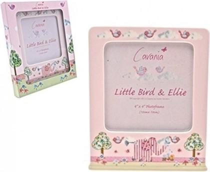 Фоторамка для девочки Слонёнок Элли и птичка 10x10см Leonardo Collection LP33109