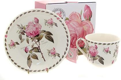 """Пара чайная для завтрака """"Роза Редаут"""" 400мл The Leonardo Collection LP99587"""