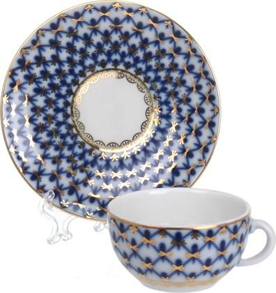Кофейная пара ИФЗ Кобальтовая сетка, форма 40г, 50мл 81.14623.00.1