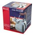 Чайник со свистком Regent Luxe, 3.8л, нерж. сталь 93-2503B.2
