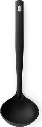 Ложка разливная Brabantia Basic, чёрный нейлон 365225