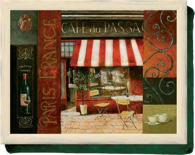 Поднос на подушке Creative Tops Кафе де Пассаж LT1281