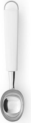Ложка для мороженого белая, нержавеющая сталь Brabantia Essential 400346