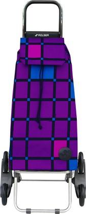 Сумка-тележка хозяйственная фиолетовая Rolser RD6 MOUNTAIN MOU109more