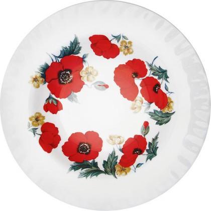 Тарелка суповая Маки 24см Roy Kirkham XMON1265
