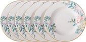 Набор суповых тарелок Top Art Studio Соланж, 6шт, 23см SP2097nn-TA
