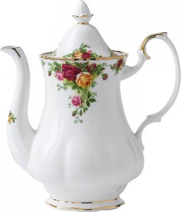 Кофейник большой Розы Старой Англии, 1250мл Royal Albert IOLCOR00141