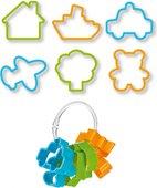 Формочки для печенья Tescoma Delicia Kids для мальчиков, 6шт 630921.00