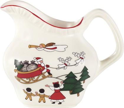 Молочник 350мл Рождественская деревенька Masons 40017695