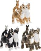 Фигурка Lesser & Pavey Дружные котики, 8x10см, 3 вида LP42004