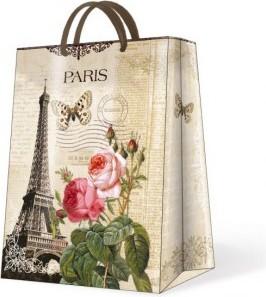 """Пакет подарочный """"Солнечный Париж"""" 30х12х41см Paw AGB015902"""