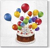 Салфетки для декупажа Paw Сладкий торт, 33x33см, 20шт TL672000