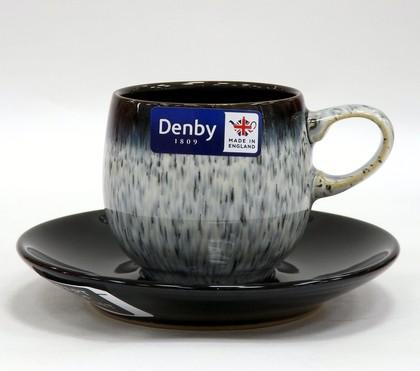 Набор кофейных пар Denby Сияние Halo Эспрессо, 125мл 199040012