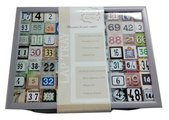 """Поднос с подушкой """"Счастливые Числа"""" 41x31см Top Art Studio HSN1283-TA"""