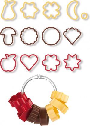 Традиционные формочки для печенья, 13шт Tescoma Delicia 630900.00