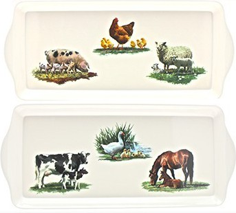 "Поднос для сандвичей ""Ферма Макнил"" 39x17см The Leonardo Collection LP91309"