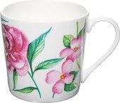 Кружка Rose of England Розовый с голубой птицей, 415мл DOR.WR.1