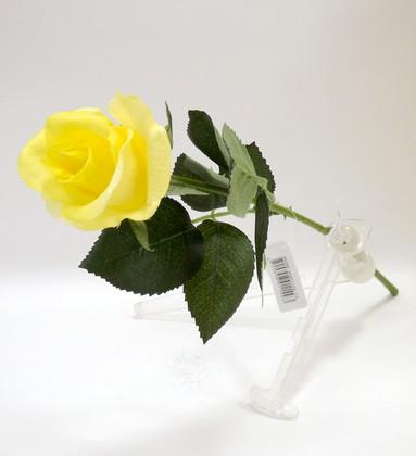 Роза Алба жёлтая 45см живое прикосновение Atelier de Fleur WAF1149-TA
