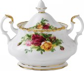 Сахарница Royal Albert Розы Старой Англии, закрытая IOLCOR00161