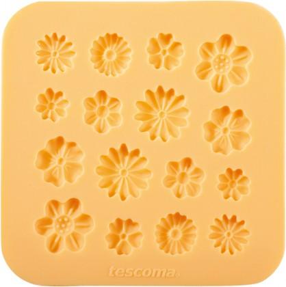 Силиконовые формочки, цветочки Tescoma DELICIA DECO 633028.00