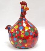 Копилка Маленький Цыплёнок MARIE красная в горошек Pomme-Pidou 148-00071/4